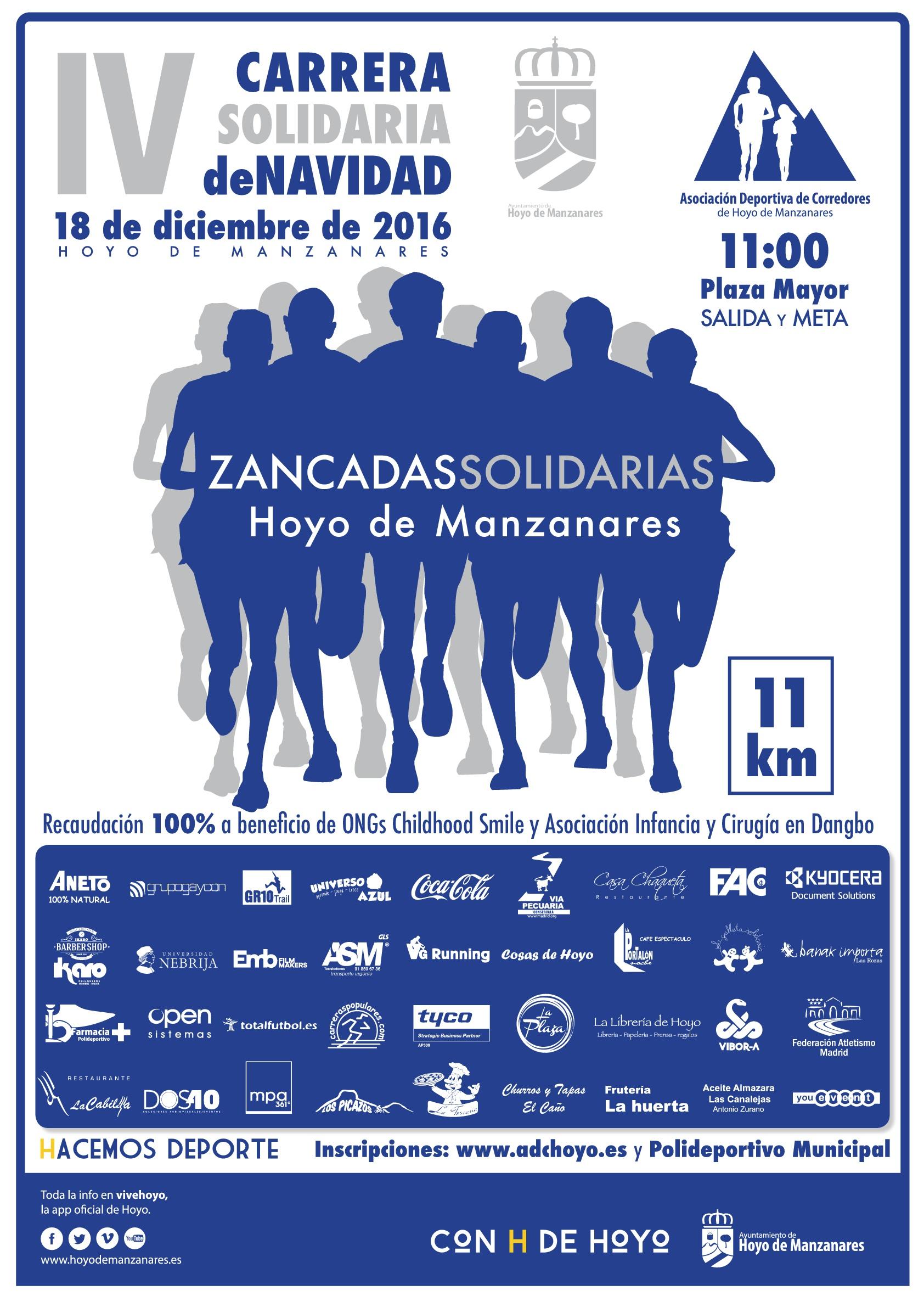 Zancadas Solidarias 2016